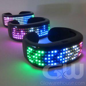 LED Light Animate Display Bracelet