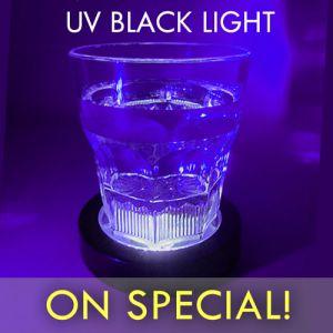 Black Light Drink Coasters