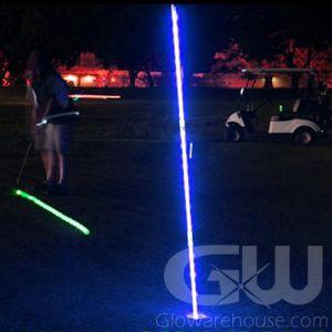 Lighted LED Night Golf Flag Pole