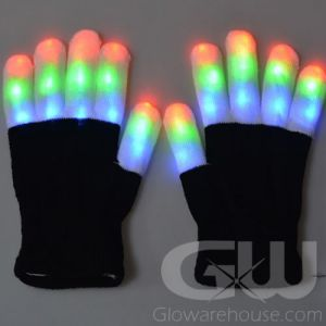 Glowing Gloves with LED LIghts