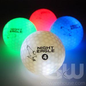 LED Golf Balls Assorted Color Mix