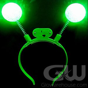Glow Party Head Band Boppers