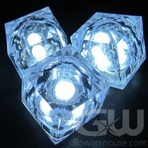 LED Light Glowing Ice Cubes