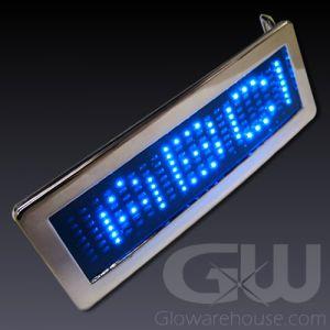 Scrolling Message LED Belt Buckles