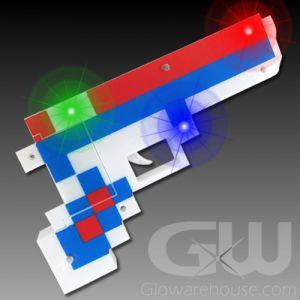Glowing Pixel Gun