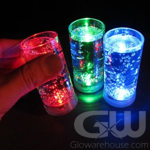 Glowing LED Shooter Glasses