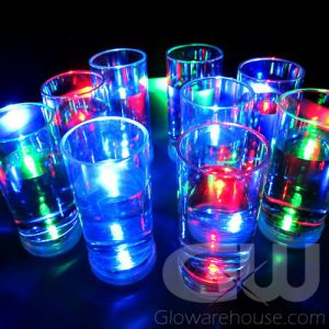 Lighted LED Glowing Shooter Glasses