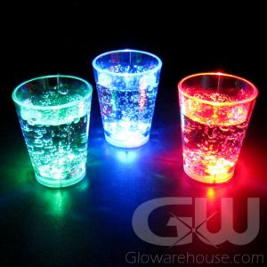 Flashing LED Shot Glasses