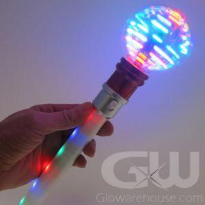 LED Glow Ball Light Wand