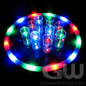 Lighted Glow Serving Tray