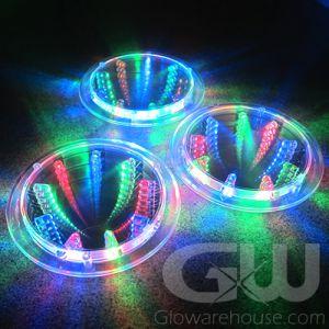 LED Light Up Glow Drink Coasters