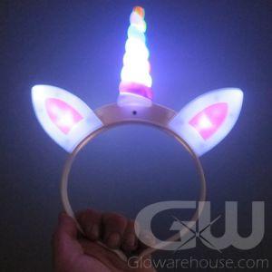 LED Unicorn Horn