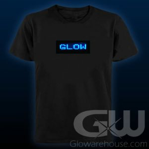 Light Up Shirt with LED Message Display