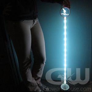 Glowing LED Flag Pin Pole