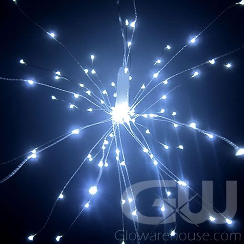 Led Fireworks White String Lights