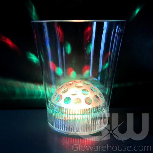 Light Show LED Drink Glasses With 8 Color Settings
