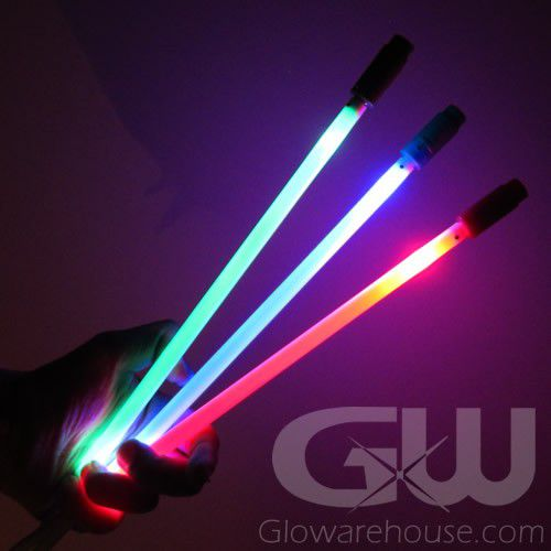 Glowing Led Marker With Ground Stake Glowarehouse Com