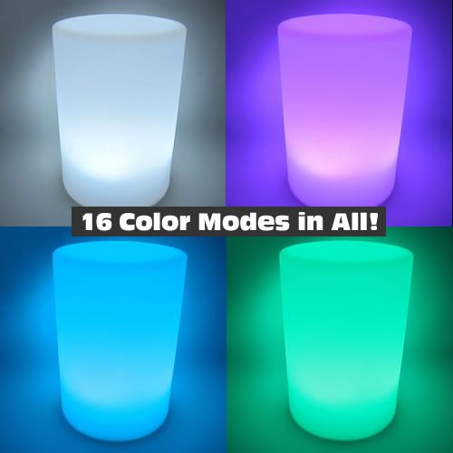 Light Up Pillar Led Mood Lamp With Remote