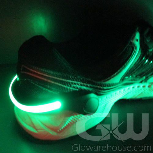 LED Shoe Clip Light with Black Frame