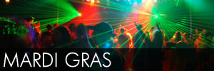 Mardi Gras Glow Sticks Party